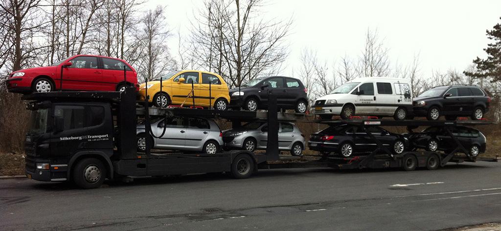 Silkeborg Biltransport - transport af alle slags køretøjer